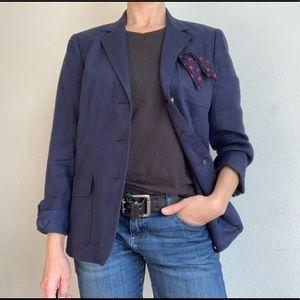 Ralph Lauren Jackets & Coats - Lauren Ralph Lauren navy linen blazer